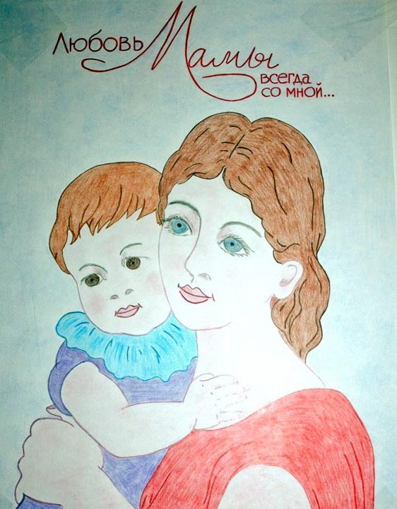 Конкурс детских рисунков на день матери